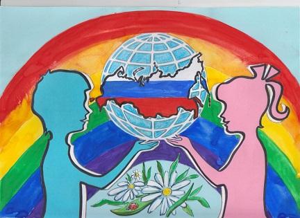 конкурс рисунков дети россии