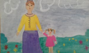 конкурс рисунков день матери