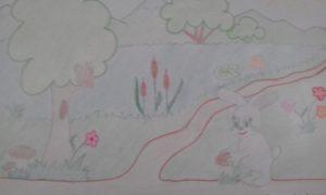 детский рисунок о лете конкурс