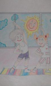 детский рисунок здоровый образ жизни конкурс