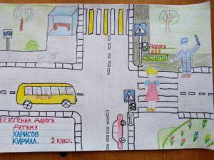 рисунок правила дорожного движения