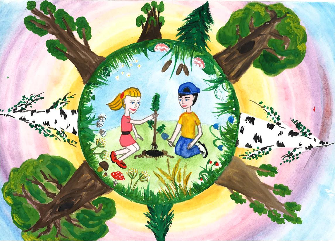 Год экологии картинки детей
