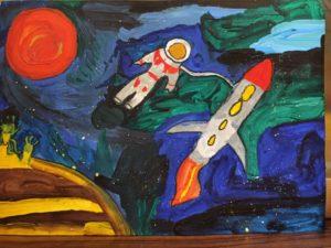 конкурс бескрайний космос