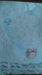 космос глазами детей конкурс