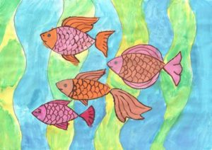конкурс подводный мир