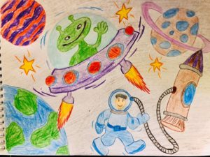 конкурс космос глазами детей