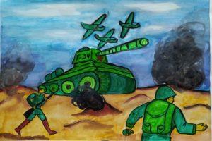 конкурс великая война рисунки