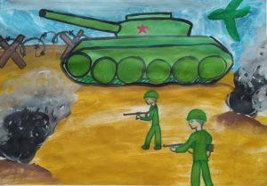 конкурс война глазами детей