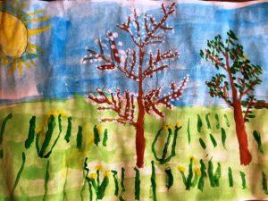 конкурс рисунков весна красна