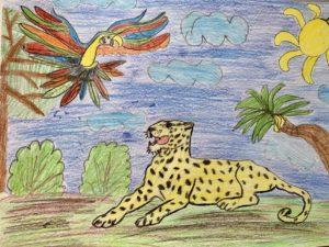конкурс в мире животных всероссийский рисунков