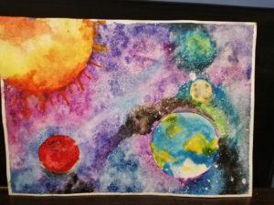 конкурс бескрайний космос для детей