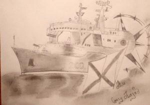 конкурс рисунков великая война великая победа