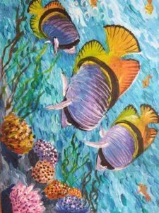 конкурс подводный мир рисунки всероссийский