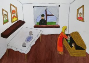конкурс жизнь во время войны международный рисунки