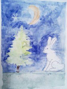 конкурс зима рисунки
