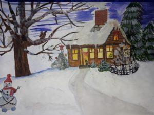 конкурс зима рисунки всероссийский