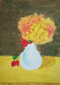 конкурс рисунков осень