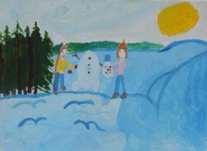 конкурс зимняя сказка с дипломами