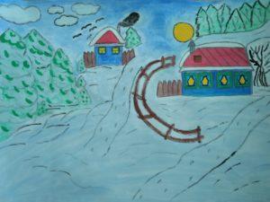конкурс зима рисунки поделки всероссийский международный дипломы дети