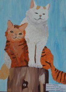 конкурс рисунков животных
