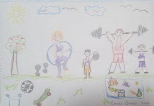 здоровый образ жизни рисунки мелками конкурс лета рисунки поделки всероссийский и международный для детей с дипломом