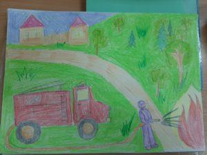 конкурс рисунков пожарная безопасность всероссийсский для дошкольников