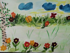 конкурс рисунков осень для школьников