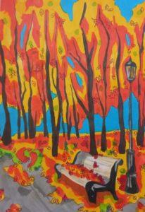 конкурс рисунков осень всероссийский для школьников