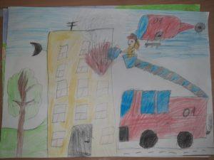 конкурс пожарная безопасность рисунки дошкольники